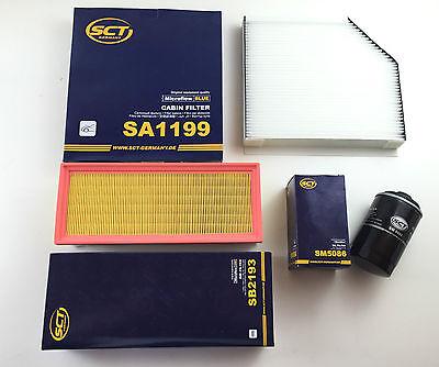 Filter set oil air pollen audi a4 8k2 b8 a5 8t3 1 8 2 0 for Tesla cabin air filter