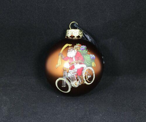 Harley-Davidson Winter 2020 Biker Santa Ball Ornament, HDX-99194