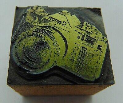 Printing Letterpress Printers Block Canon Camera