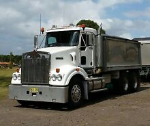 2009 Kenworth 408 SAR with Hamelex 3 axle dog trailer Austral Liverpool Area Preview