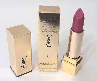 Yves Saint Laurent ROUGE PUR COUTURE Satin Lipstick Le FUCHSIA #7