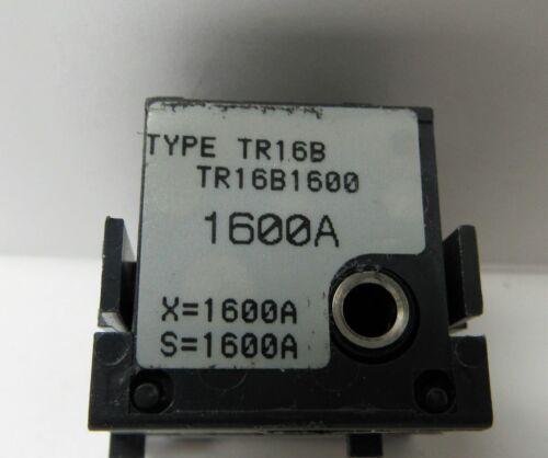 GENERAL ELECTRIC TR16B1600 1600A RATING PLUG
