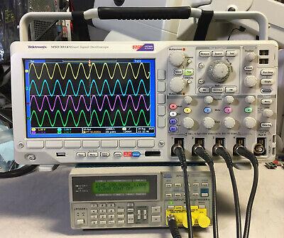Tektronix Mso3054 Oscilloscope 500mhz 2.5gss