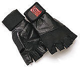 Bally-Total-Fitness-Leather-Weightlifting-Gloves-New