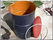 Steel Drum re sealable lid