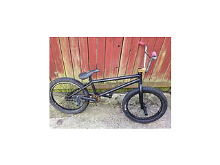 Radio astron bmx with proper TTXL chrome handle bars. A bit rusty and some scratches, £75, ONO.