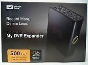 Disque dur externe WD MyDVR expander 500 GB SATA. Modèle WD5000F