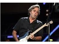 2 ERIC CLAPTON TICKETS ALBERT HALL 24th MAY 2017