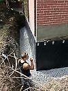 * INFILTRATION D'EAU * DRAIN-FRANÇAIS * FONDATION * FISSURES * West Island Greater Montréal image 1