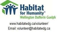 Gain Experience Volunteer - Habitat for Humanity Orangeville
