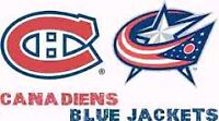 CANADIENS vs COLOMBUS (Tonight/Ce soir) CHEAP TICKETS