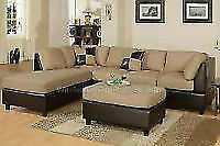 """BESTDRY UPHOLSTERY CLEANING SECTIONAL """"L SHAPED"""" $100"""