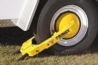 NE Boat Trailer Trimax TWL100 Ultra-Max Wheel Lock Boot Clamp Disc Lug Nut Cover