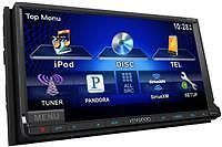 Kenwood DDX770 - 2-DIN Multimedia DVD Receiver with Bluetooth