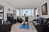 Spacious One Bedroom with City View
