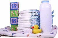 Baby supplies for FREE