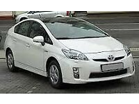 PCO CAR HIRE TOYOTA PRIUS-PLUS HONDA INSIGHT FORD GALAXY-SHARAN MPV 7 SEATER-special offer