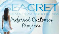 Seacret Products up to 60% off