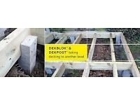 Decking Concrete Deck Posts from £7.08