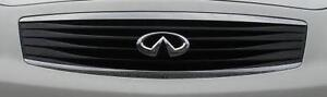 OEM INFINITI G35 G37 SEDAN MIDNIGHT BLACK GRILLE 2007-2009