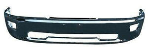 NEW 2009-2015 DODGE RAM 2500 3500 CHROME FRONT BUMPERS
