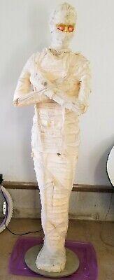 Working Gemmy Lifesize Mummy Animated light up Moaning Halloween Prop