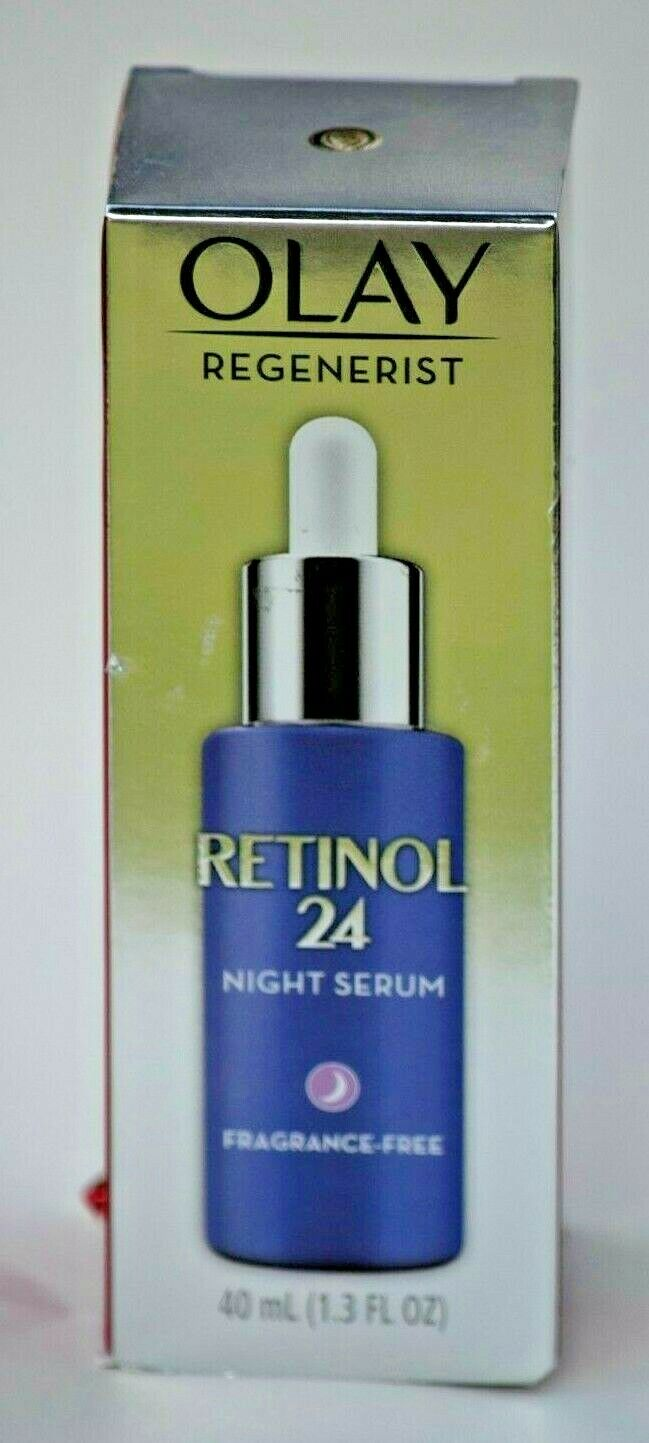 Olay Regenerist Retinol 24 Night Facial Serum - 1.3oz Free S