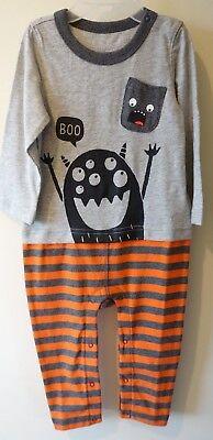 Gap Baby Halloween (NWT Baby Gap Halloween Longall / Romper Boy's Size 18-24 Month)