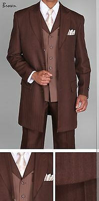 3 Piece Zoot Suit - Men's 3 piece Milano Moda 35