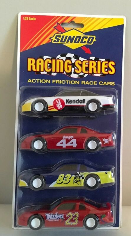 1999 Sunoco Racing Series Action Friction Race Cars 1:38 Scale