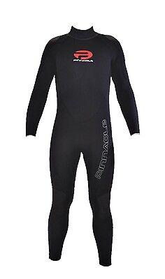 Pinnacle Cruiser 3mm Full Scuba Diving Wetsuit Men's Black WS51MBK