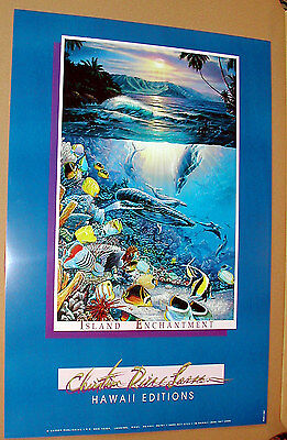 Large Poster Set - SET OF 4 LARGE - BRAND NEW - CHRISTIAN LASSEN POSTERS