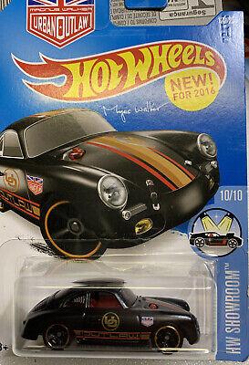 "Hot Wheels Showroom, Porsche 356A ""Outlaw"",  New In Pkg."