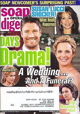 Soap Opera Digest Magazine   March 1  2011   James Scott   Arianne Zucker