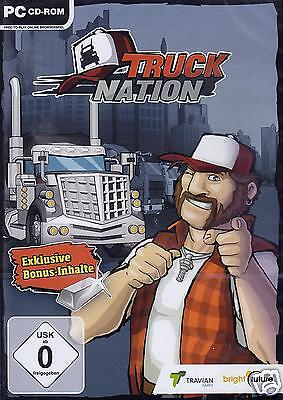 TRUCK NATION (Browser-Spiel / 1000 Platin) PC NEU