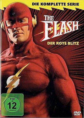 The Flash - Der rote Blitz , 4 DVDs Edition im Pappschuber , neu & verschweißt online kaufen