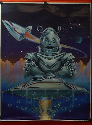 Vintage Amway Robot Poster Advertising 1981