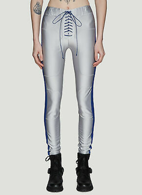 New BEN TAVERNITI UNRAVEL PROJECT Lace-Up Viscose Trousers - RRP £705