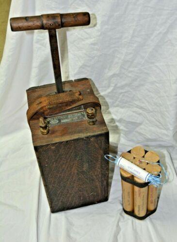 Dynamite Blasting Box, pre 1890. Mining, Railroad
