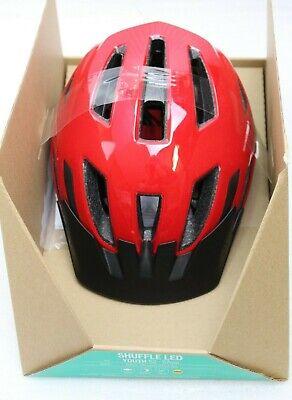 Specialized Shuffle LED Youth Fahrradhelm für Kinder 52-57cm Flo Red rot NEU ()