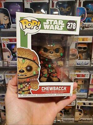 Funko Pop Star Wars Chewbacca with Christmas Lights # 278