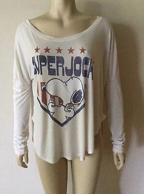 Junk Food Snoopy Super Jock T-Shirt Size L ()