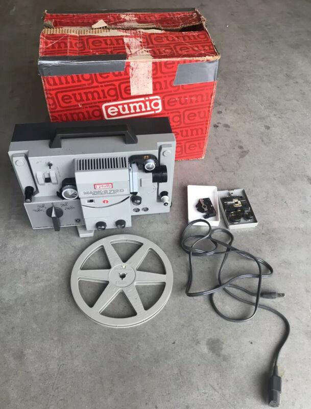 EUMIG Mark S712D Vintage Sound/Film Movie Projector