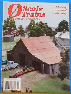 O Scale Trains #56 2011 May June Modeling an Old Barn for sale  Shipping to United Kingdom