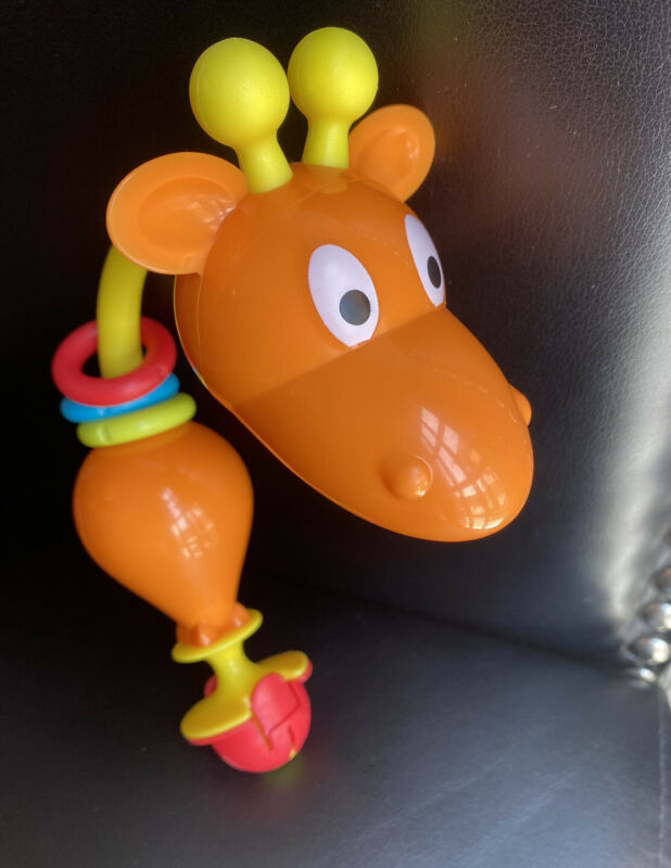 Evenflo ExerSaucer Jump & Learn Jungle Quest Jumper Giraffe Toy Replacement Part