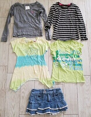 Lot Of 5 Girls Clothes M Medium 7-8 10-12 Abercrombie/Roxy/Cherokee/Beautees