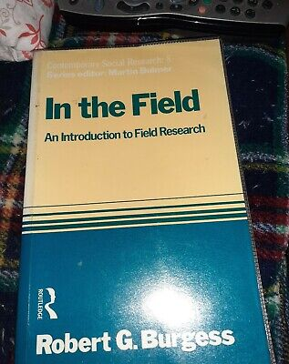 In the Field paperback research book data student sociology RG Burgess study for sale  Shipping to South Africa