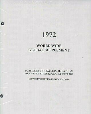 Minkus 1972 World Wide Global Supplement, New!