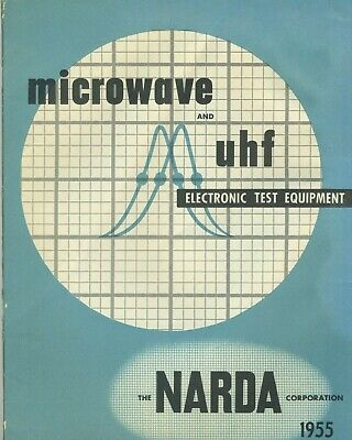 Narda Corp. 1955 Catalog Microwave Uhf Electronic Test Equipment Price Guide