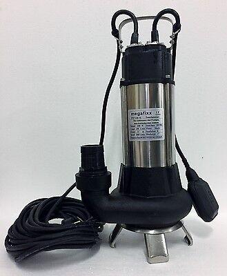 megafixx PTP1100M Schmutzwasser Tauchpumpe bis 27000 L